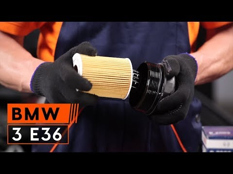 How to replace Engine Oil and Oil filter on BMW 3 E36 TUTORIAL | AUTODOC