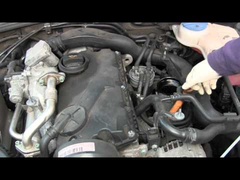How to DIY oil change on VW Passat TDI, somewhat similar on Volkswagen Jetta TDI