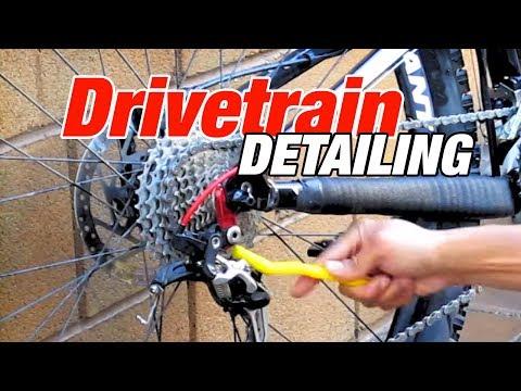 How to Wash Your Bike's Drivetrain  - Chain Derailleurs Cassette Using Pedros Chain Machine Kit 2.0
