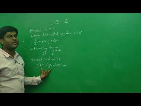 Linear differential equation Introduction: Best Engineering Mathematics Tips (AU,JNTU ,GATE,DU)