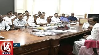 Telangana Govt To Hold Mandal Level Farmer Coordination Committee Meetings   V6 News