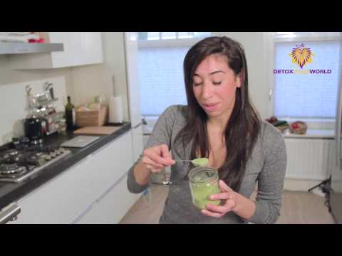 Wheatgrass Recipe - Wheatgrass Dressing and Italian Salad