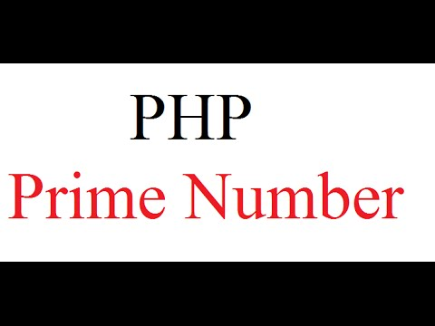 How to find prime numbers between two numbers using PHP