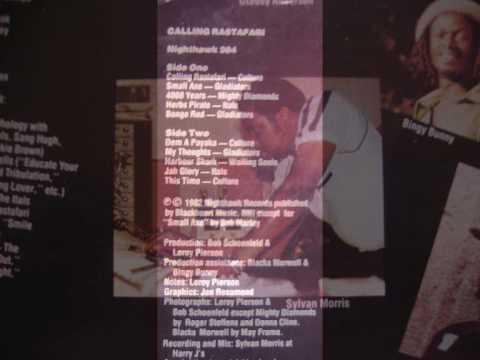 Culture -This Time -Calling Rastafari Album  1982