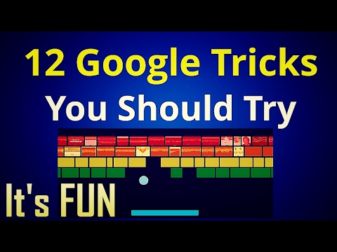 12 Google Tricks You Should Try