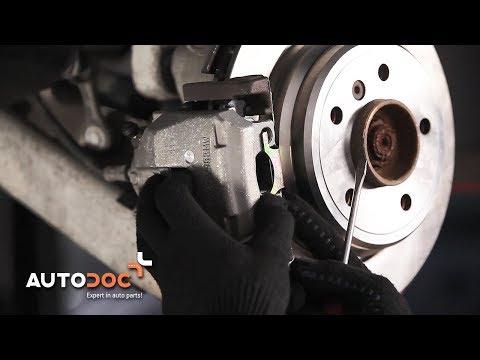 How to replace rear brake caliper BMW 5 E39 TUTORIAL | AUTODOC