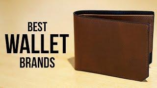 Top 5 Best Wallet Brands for Men in 2017