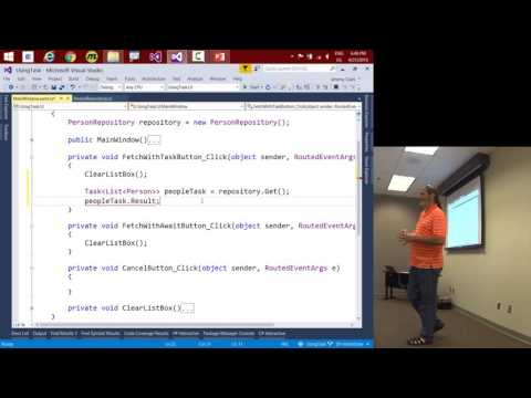 JeremyBytes Live! - I'll Get Back to You: Task, Await, and Asynchronous Methods in C#