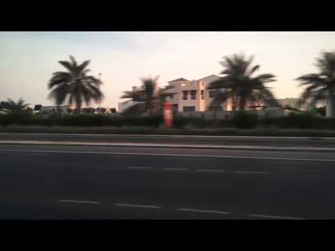 Abu Dhabi Time Lapse Drive with iPhone 6 Plus