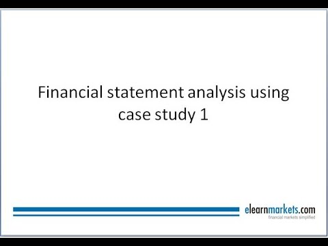 Step by Step guide to do Financial Statement Analysis