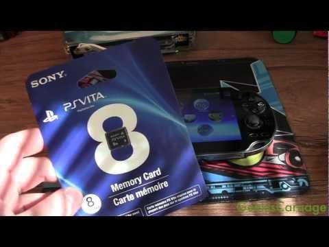 PlayStation Vita Memory Card Unboxing & Install