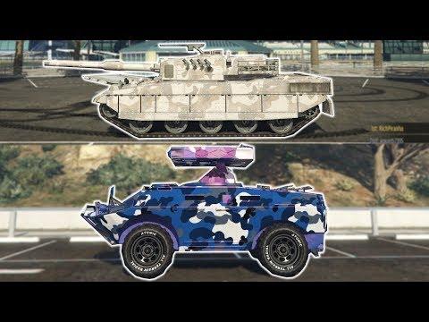 APC Vs Rhino (GTA Online)