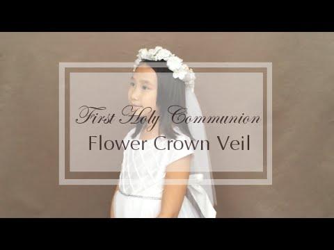 DIY Flower Crown : Flower Girl & First Communion