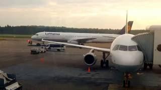 Helsinki - Frankfurt Flight Lh 855, Lufthansa A321-131,