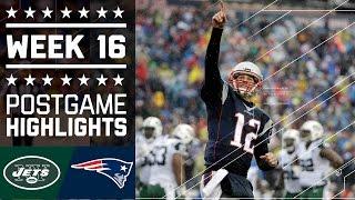 Jets vs. Patriots | NFL Week 16 Game Highlights