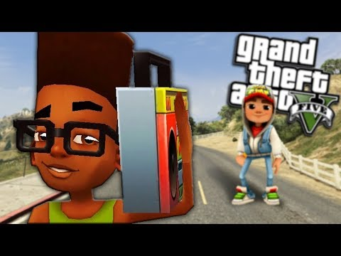 GTA 5 Mods - FRESH FROM SUBWAY SURFERS MOD (GTA 5 Mods Gameplay)