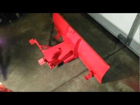 Homemade Atv snow plow mount/bracket