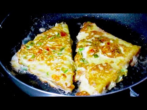 CHEESE EGG TOAST - BREAKFAST RECIPE