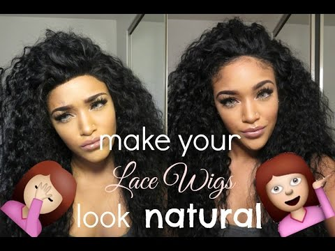 How I make lace wigs look natural | RPGSHOW els133-s