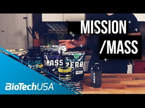 Supplements for Bulking - Mission Mass with Justin St. Paul - BioTechUSA