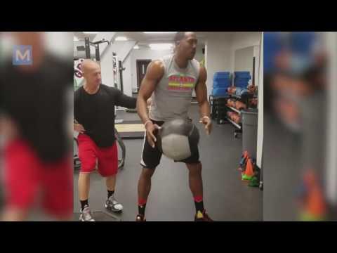 Dwight Howard Basketball Training Workout Muscle Madness
