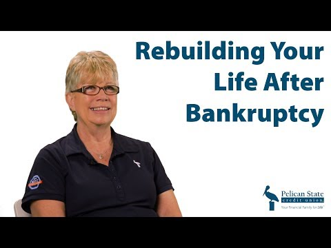 Rebuilding Your Life and Credit After Bankruptcy | #AskPelican
