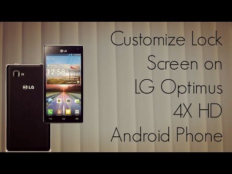 Customize Lock Screen LG Optimus 4X HD Android Phone - Add Widgets & Shortcuts - PhoneRadar