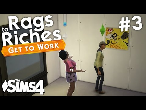 The Sims 4 Get To Work - Rags to Riches - Part 3