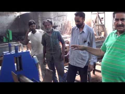 Ess kay Company  Make Sheet rolling machine