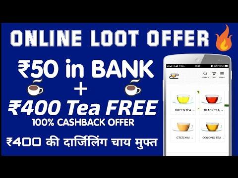 Cashkaro New Offer : Free Rs. 50 in Bank +  Rs.400 TEA FREE • 100% Free • Earn Money Online • V Talk