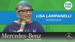 Lisa Lampanelli on Quitting Stand-Up | Elvis Duran Show