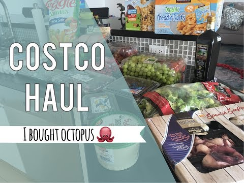 Costco Haul || I Bought Octopus🐙