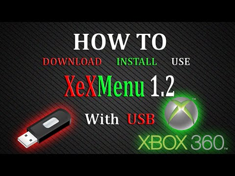How To Download, Install and Use XeXMenu 1.2 For Xbox 360 With USB | JTAG/RGH [NEW JULY 2016]