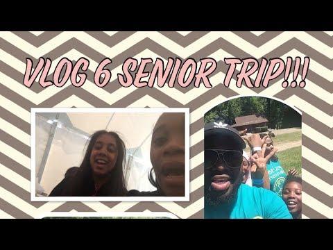 Vlog 6 SENIOR TRIP 🤪~BeautybyDelores