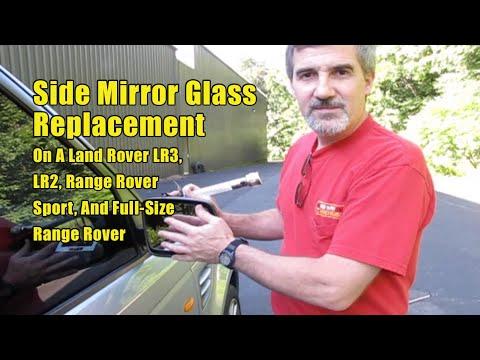 Atlantic British Presents: Replacing Side Door Mirror Glass On Land Rovers