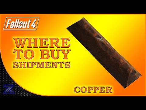 Fallout 4 - How to Find Shipments of Copper Guide | Complete Material Guide