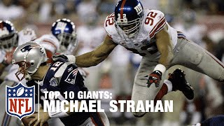 Top 10 Giants Michael Strahan Nfl