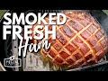 Smoked Fresh Ham Recipe - How to Smoke Ham on the BBQ