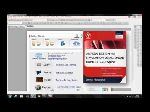 OrCAD PSpice simple circuit page 151 bonus tutorial video   7
