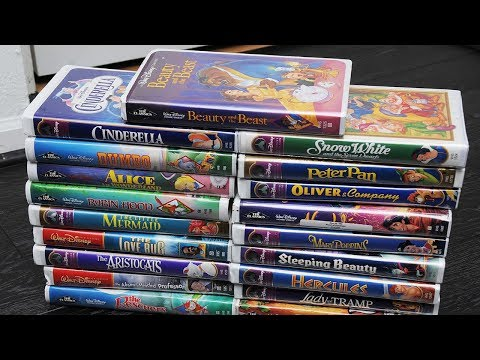 Lucky People Who Kept Their Old Disney VHS Tapes Could Make A Fortune