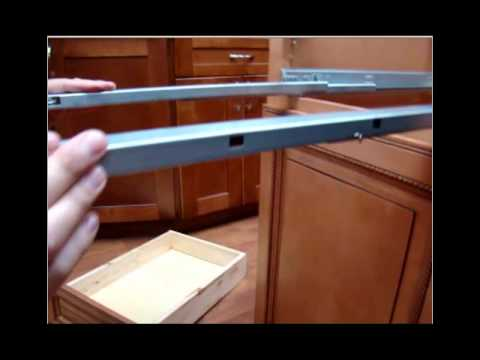 TSG Style Cabinet- How to adjust Drawers & Glides