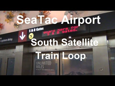 (2017) SeaTac Airport - Underground South Satellite Train Loop