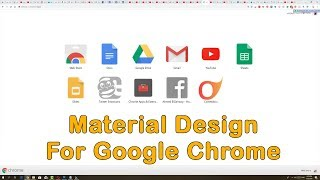 #x202b;أخيراً شكل Material Design لمتصفح جوجل كروم 😍 قم بتفعيله الآن#x202c;lrm;