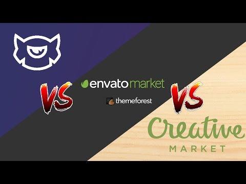 TemplateMonster vs. ThemeForest vs. CreativeMarket | Ultimate Comparison