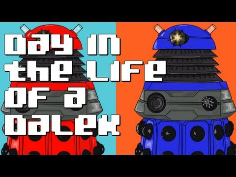 Day in the life of a Dalek
