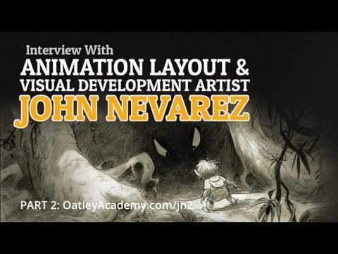 Interview with Animation Layout & Visual Development Artist, John Nevarez (Part 2) :: ArtCast #99