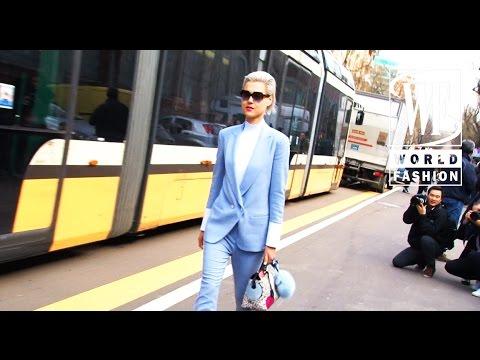 Street Style Milan Fashion Week Part III