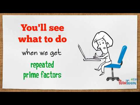 Finding ALL the Factors of ANY Number by PRIME FACTORIZATION (repeating prime example)