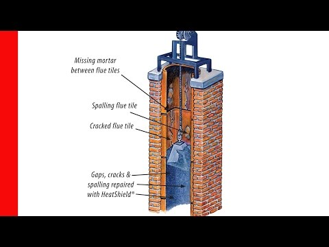 Chimney Cracked / Damaged Flue Smart Repair with Tom