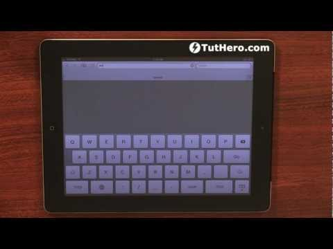iPad Tutorial - How to clear your browsers history - v3